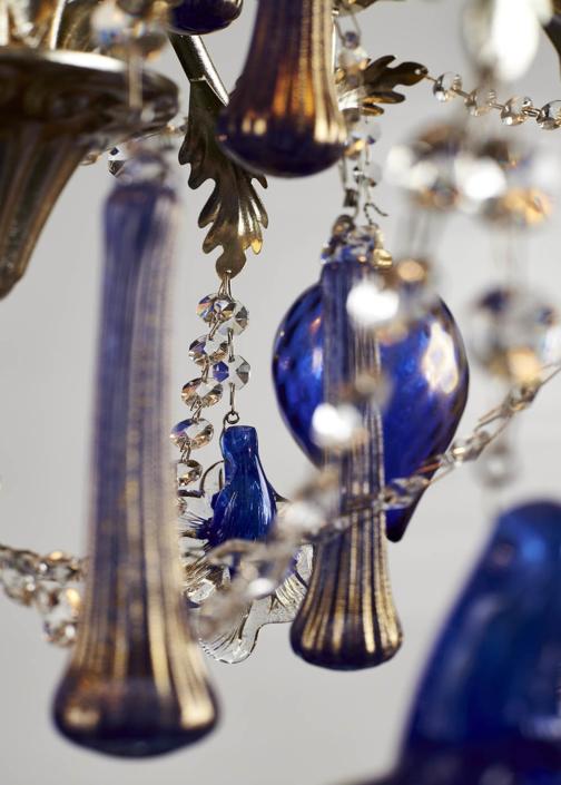 D'ESTE BLUE DIAMOND/6 con paralumi